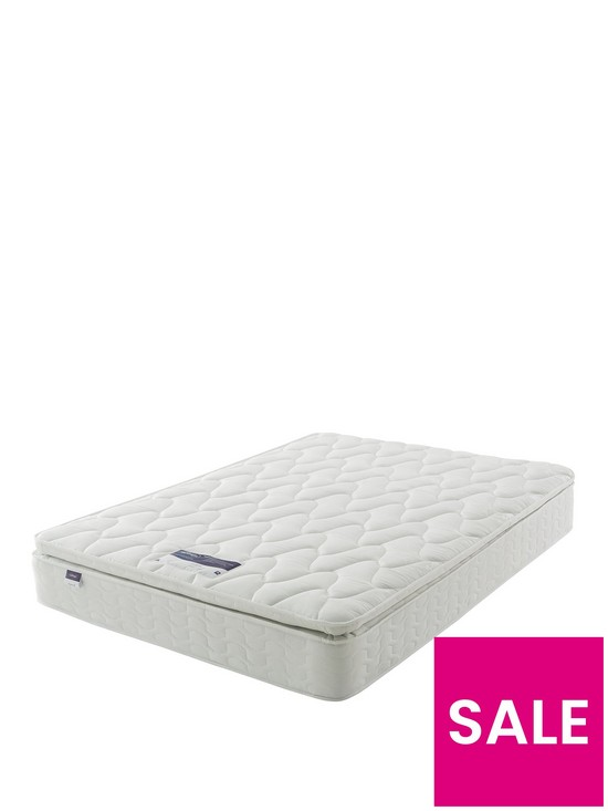 Silentnight Miracoil Sprung Pippa Ultimate Pillowtop Mattress - Firm ... 2c0f82ce9