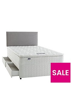 silentnight-miracoil-3-pippa-ultimate-pillowtop-divan-bed-with-storage-options-and-half-price-headboard-offer-buy-and-save