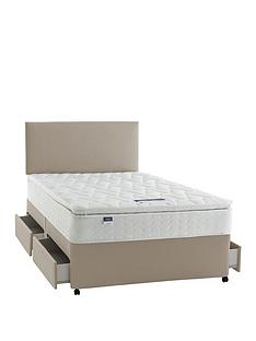 08bf47910ac Silentnight Miracoil 3 Pippa Ultimate Pillowtop Divan Bed with Storage  Options