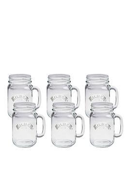 kilner-clear-glass-handled-jars-set-of-6