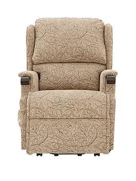 Hartland Electric Lift And Tilt Fabric Recliner Chair
