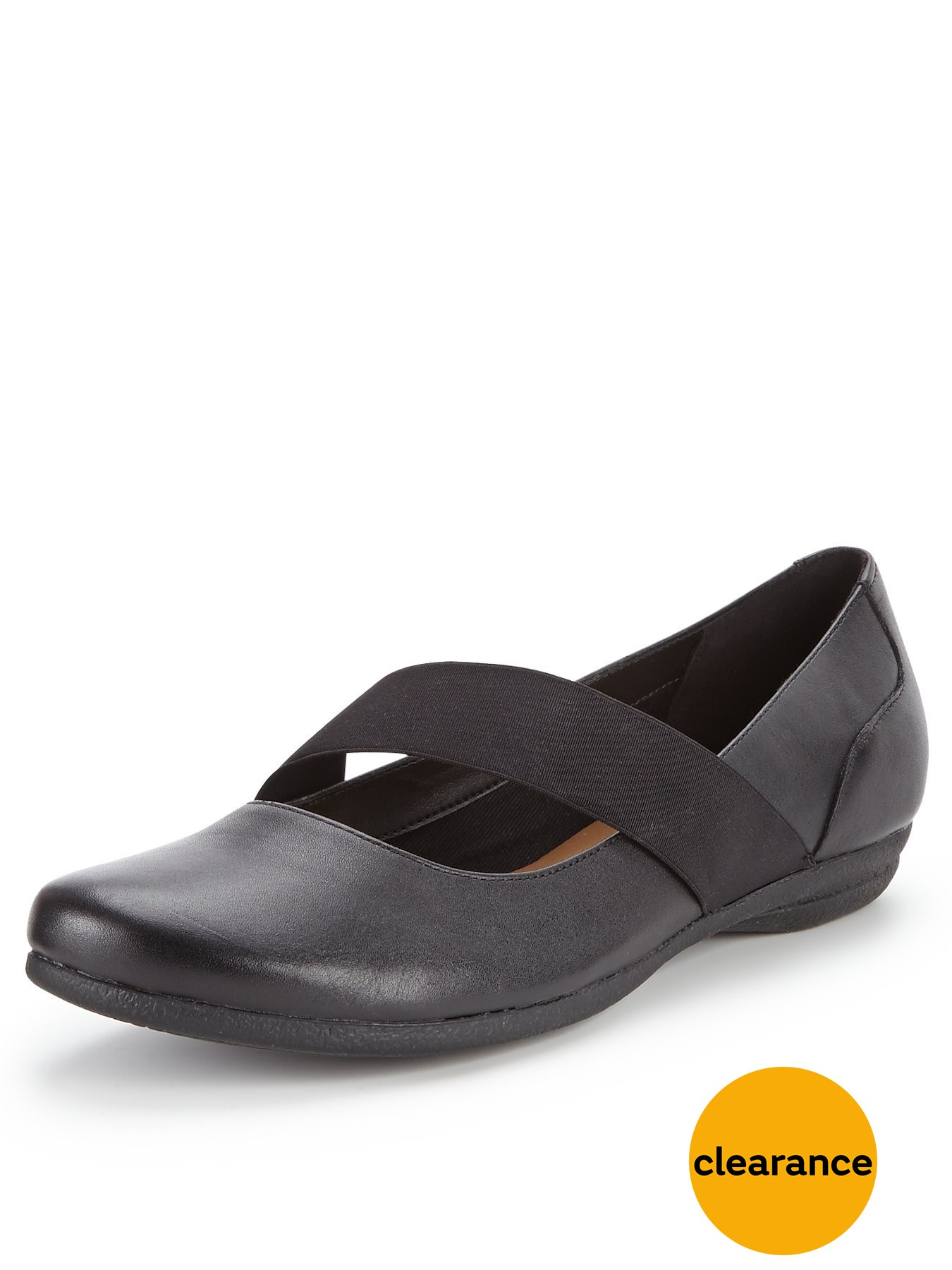 Clarks Discovery Ritz Mary Jane Flat Shoes 1458050368 Women's Shoes Clarks Flats