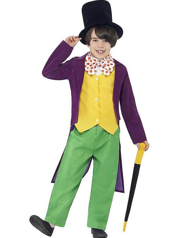 Roald Dahl Willy Wonka Childs Costume