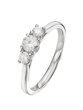 everlasting-diamonds-18-carat-white-gold-50-point-trilogy-ring