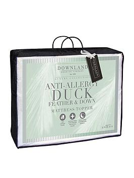 downland-12cm-anti-allergy-duck-feather-and-down-mattress-topper