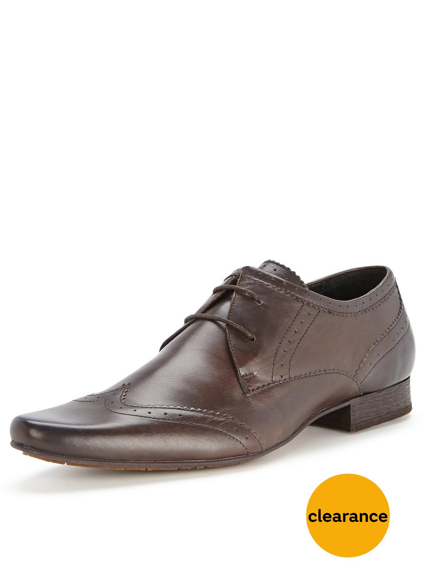 Latest Hudson London Ellington Leather Black Lace Up Shoes for Men Online Sale