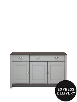 consort-tivoli-ready-assembled-large-grey-sideboard-with-walnut-effect-top-10-day-express-delivery