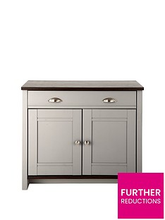 consort-tivoli-ready-assembled-compact-grey-sideboard-with-walnut-effect-top-5-day-express-delivery