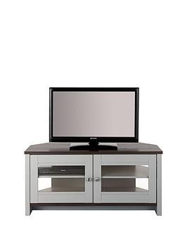 Consort Tivoli Ready Assembled Corner Tv Unit – Fits Up To 46 Inch Tv