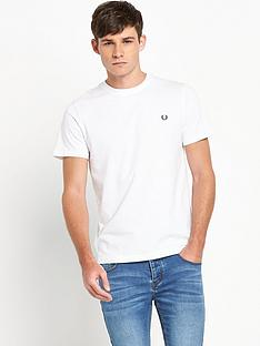 fred-perry-mens-white-crew-neck-t-shirt