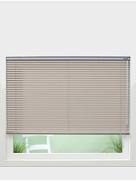 Photo of Made to measure 25 mm aluminium venetian blinds - light beige