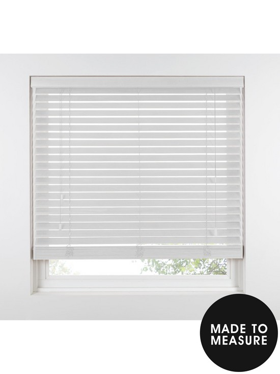 Made To Measure 50 Mm Wooden Venetian Blinds Polar