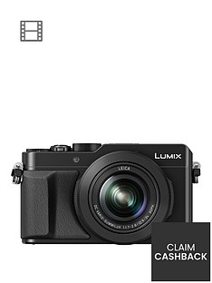 panasonic-lumix-dmc-lx100-ebknbspcompact-digital-camera-4k-ultra-hd-128-megapixel-31x-optical-zoom-evf-3-inchnbsplcdnbspscreen-black-pound50-cash-back-available