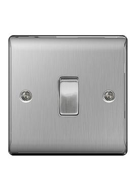 british-general-brushed-steel-1g-switch