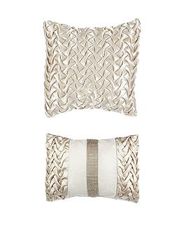 set-of-2-cushions--nbspchampagnenbsp