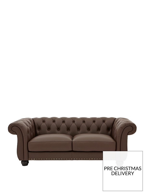Groovy Bakerfield 3 Seater Leather Sofa Pabps2019 Chair Design Images Pabps2019Com