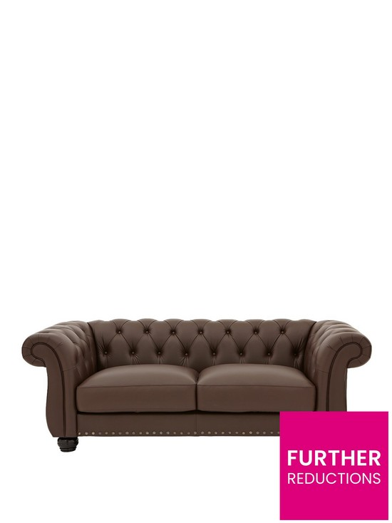 Amazing Bakerfield 3 Seater Leather Sofa Home Interior And Landscaping Ponolsignezvosmurscom