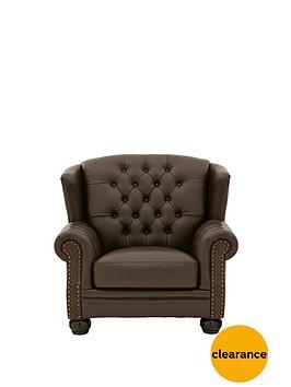 harrington-faux-leather-armchair