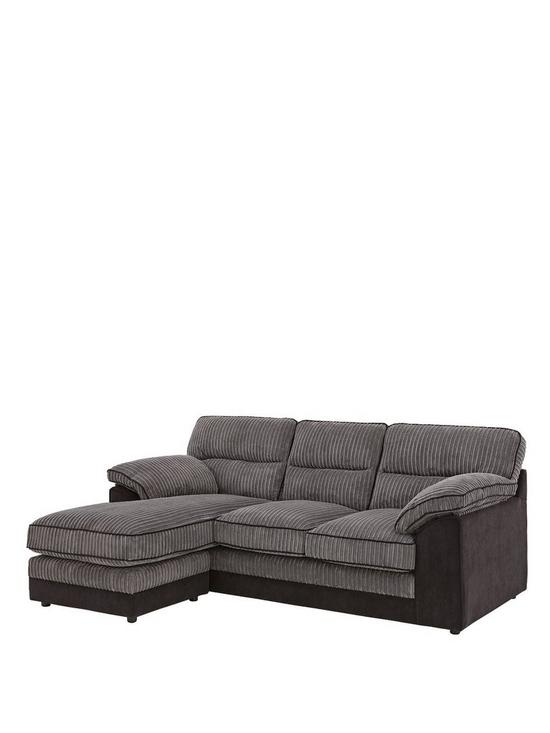 Delta 3 Seater Left Hand Chaise Sofa