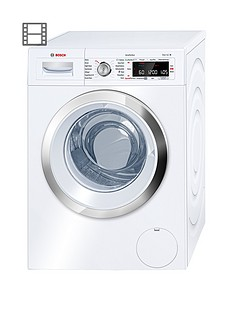 Bosch Serie8WAW32560GB9kg Load, 1600 SpinWashing Machine withi-DOS Automatic Dosing - White
