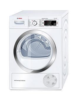 bosch-serienbsp8nbspwtw87560gbnbsp9kgnbspload-condenser-sensor-dryer-with-heat-pumpnbsp--whitenbsp