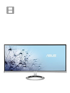 asus-sonicmaster-mx299q-29-inch-ultra-widescreen-ultra-slim-bezel-ah-ips-led-monitor-blacksilver-with-bang-olufsen-icepower-speakers