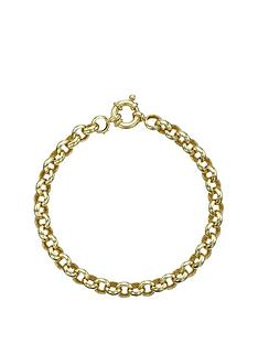 love-gold-9-carat-yellow-gold-round-belcher-bracelet