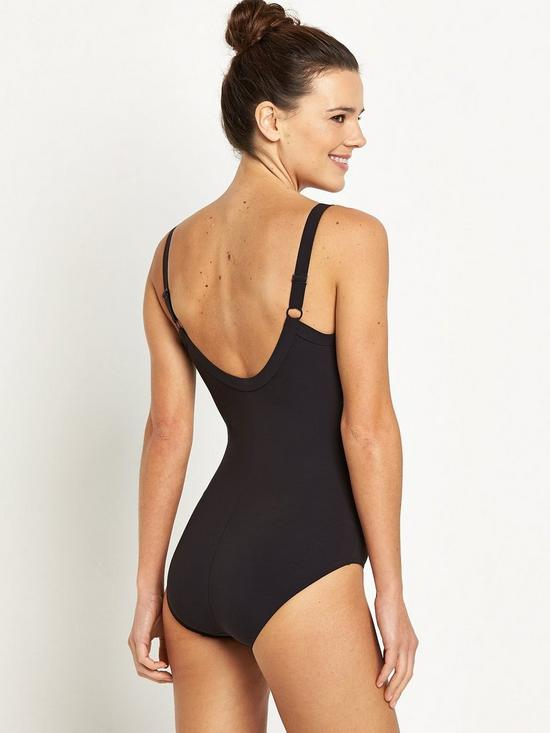 6dacadca34236 ... Speedo Sculpture Watergem Swimsuit - Black. 3 people have looked at  this in the last couple of hrs.