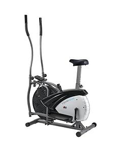 Body Sculpture Dual Action 2-in-1 Fan Elliptical and Bike