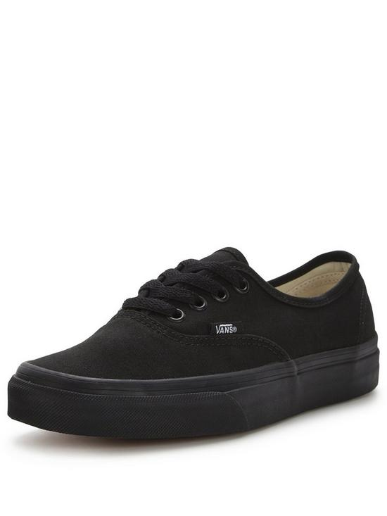 0e7ca6418c Vans Mens Authentic Skate Plimsolls