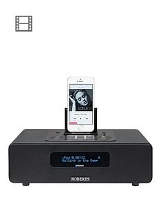 Roberts Blutune 65 DAB+ FM Bluetooth Speaker Digital Radio - Black