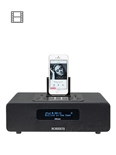 Roberts Bluetune65 DAB+ FM Bluetooth Speaker Digital Radio - Black