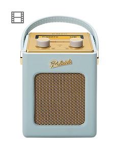 Roberts Mini Revival DAB/DAB+/FM Digital Radio - Duck Egg Blue