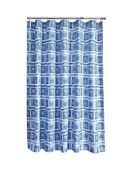 aqualona-seascape-shower-curtain-bluewhite