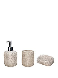 aqualona-sandstone-3-pack-lotion-bottle-tumbler-and-soap-dish