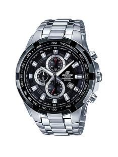 casio-edifice-stainless-steel-black-face-chronograph-mens-watch