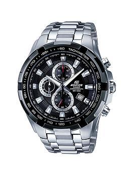casio-stainless-steel-black-dialnbspchronograph-mens-watch
