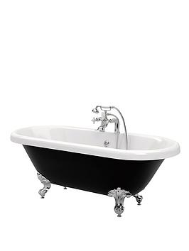 canterbury-traditional-rolltop-bath-black