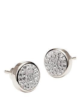 folli-follie-bling-chic-stud-earrings-silver
