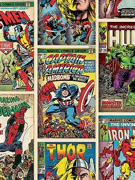marvel-graham-brown-comics-strip-wallpaper-multi