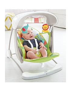 Fisher-Price Rainforest Friends Takealong Swing
