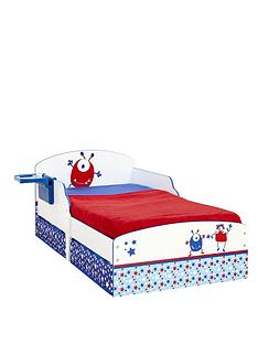 ladybird-toddler-bed-with-storage-alien-graphics