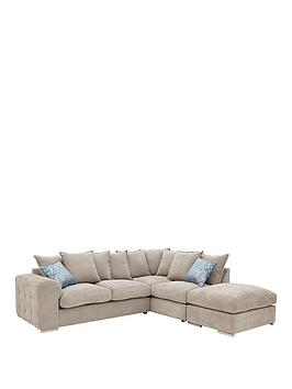 cavendish-sophia-fabric-right-hand-corner-chaise-sofa-and-footstool