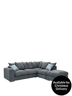 cavendish-sophia-fabric-right-hand-corner-chaise-sofa-and-footstool
