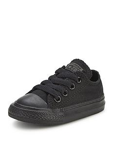 converse-chuck-taylor-all-star-mono-canvas-ox-core-infant-trainers-black
