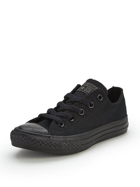 9a071da78bfdb6 Converse Chuck Taylor All Star Mono Canvas Ox Core Childrens Trainer ...