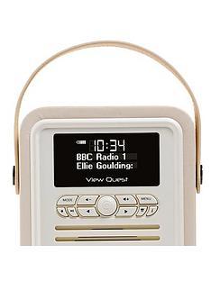 vq-retro-mini-radio-alarm-clock-cream