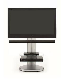 off-the-wall-no-more-wires-origin-tv-stand-with-soundbar-bracket--clearsilver-clearwhite-black-fits-up-to-65-inch-tv