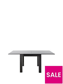 gloss-square-to-rectangle-extending-dining-table