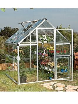 Canopia By Palram Harmony 6 X 6Ft Greenhouse - Silver